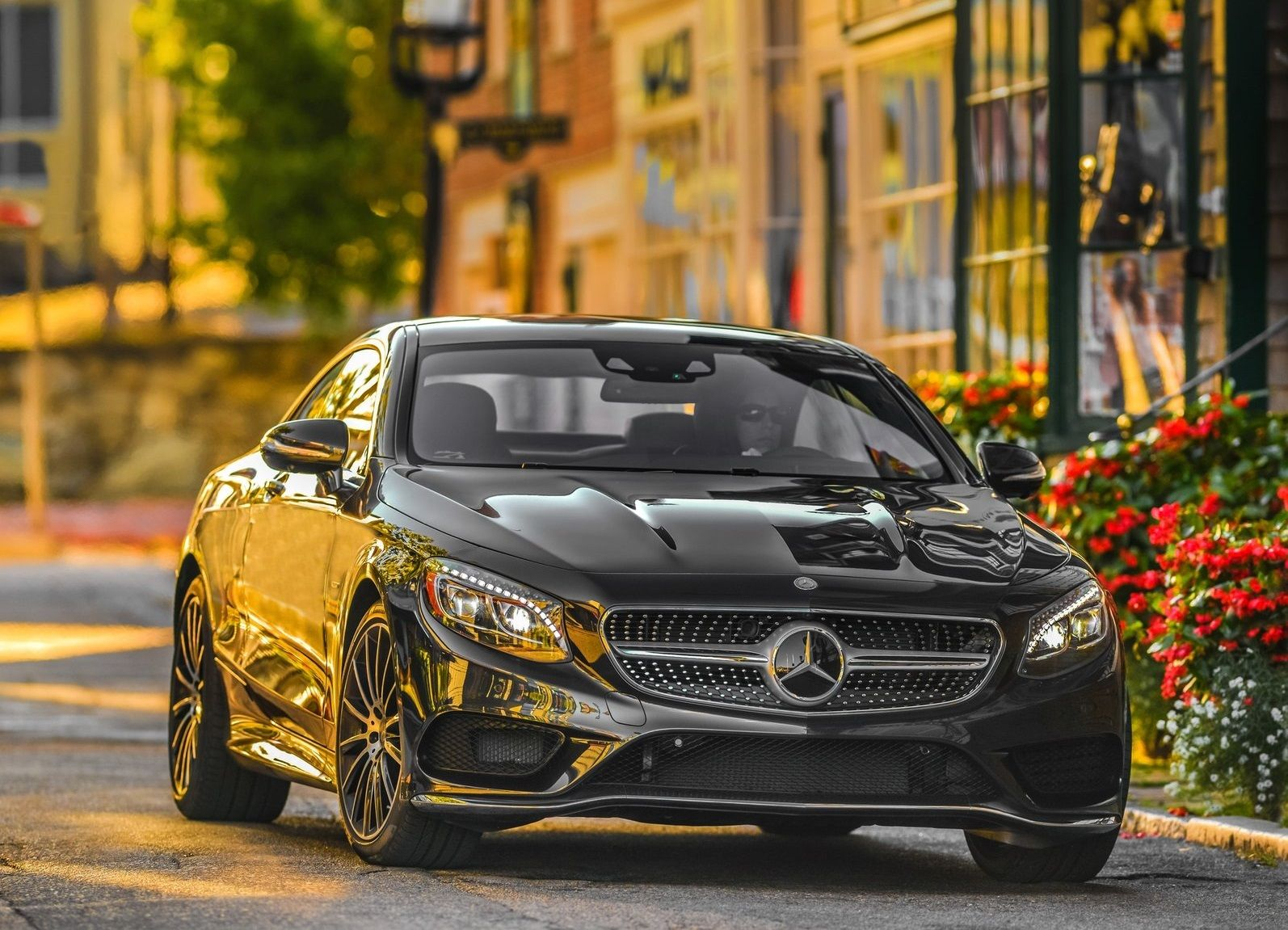 2015 Mercedes Benz S550 Coupe Front