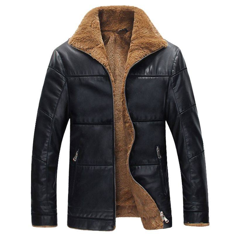 Chaquetas de cuero de invierno hombre de piel falsa caliente chaqueta casual hombre leather abrigo de hombre espesar abrigo para hombre 5XL 6XL 7XL 8XL B026 en Cuero y Ante de Moda y Complementos Hombre en AliExpress.com | Alibaba Group