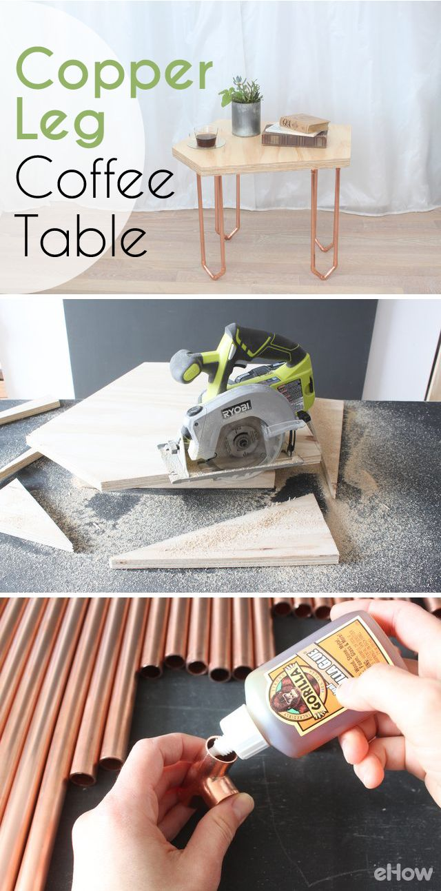 How To Make A Coffee Table With Copper Legs Unique Coffee Table