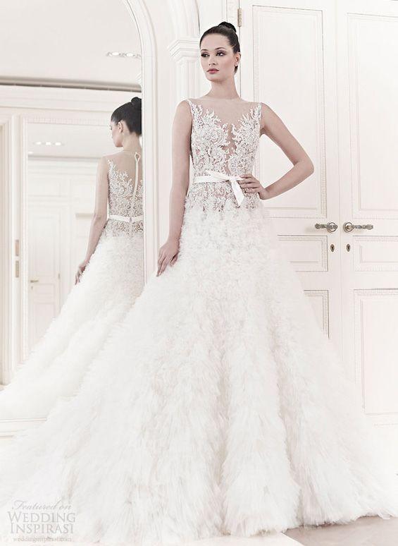 Zuhair Murad Bridal Spring 2017 Wedding Dresses