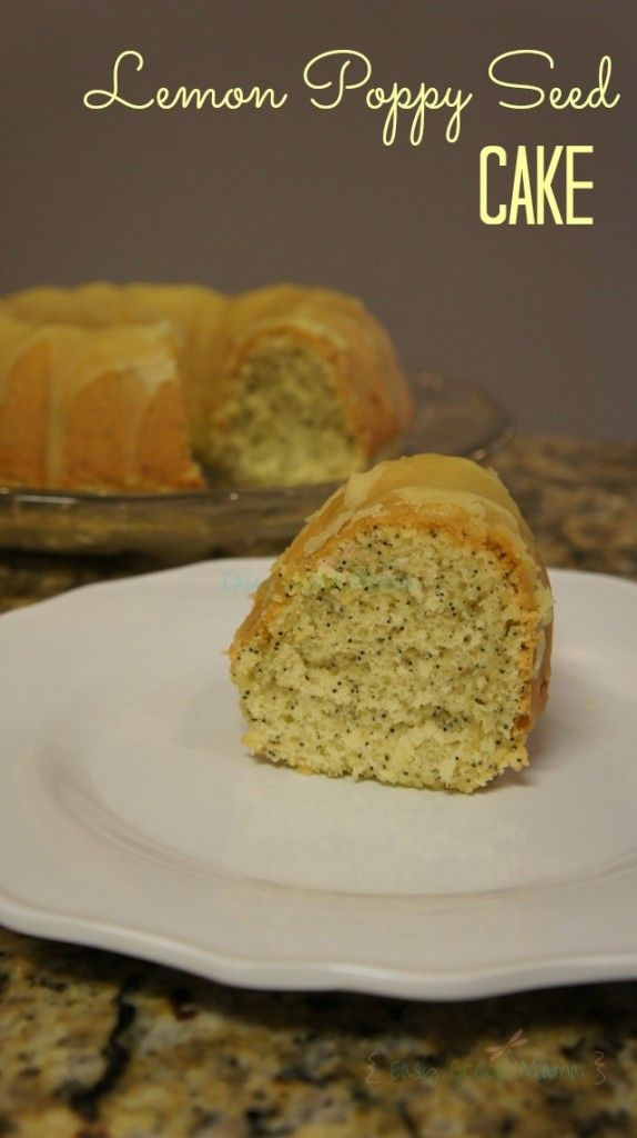Lemon poppy seed bread cake mix recipe
