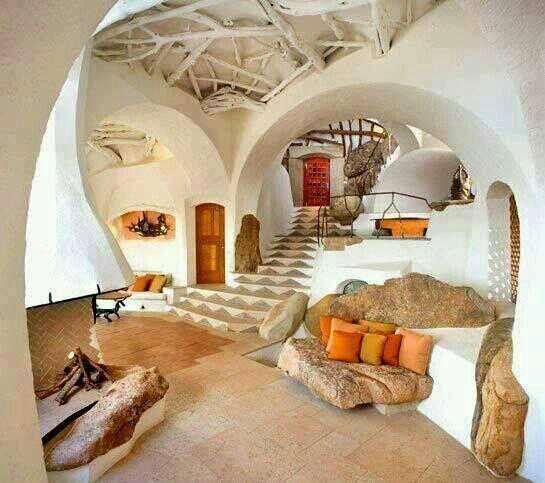 Maison troglodyte troglodyte pinterest maison for Architecture troglodyte