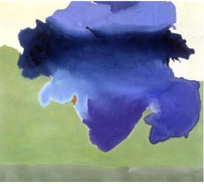 Mount St. Helen: Helen Frankenthaler