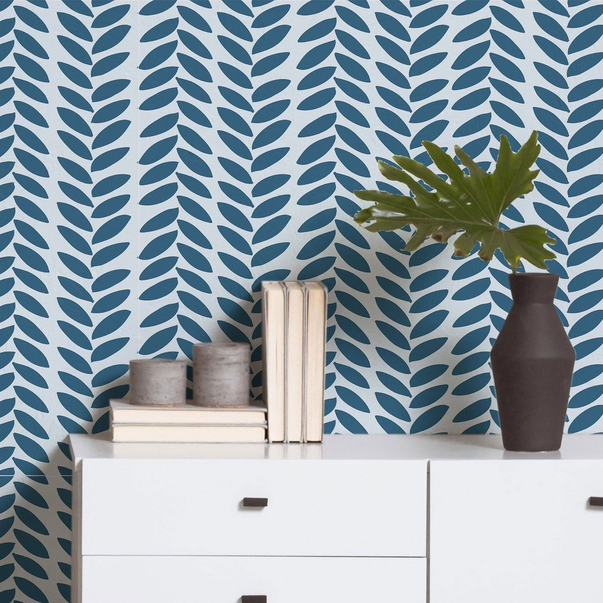 Blue Modern Basic Peel And Stick Removable Wallpaper 23 A Removable Wallpaper Traditional Wallpaper Wall Coverings