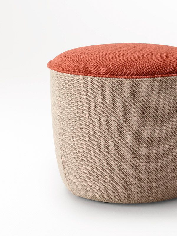 Fabulous Adapt Round Ottoman Versatile Seating For Residential Or Uwap Interior Chair Design Uwaporg