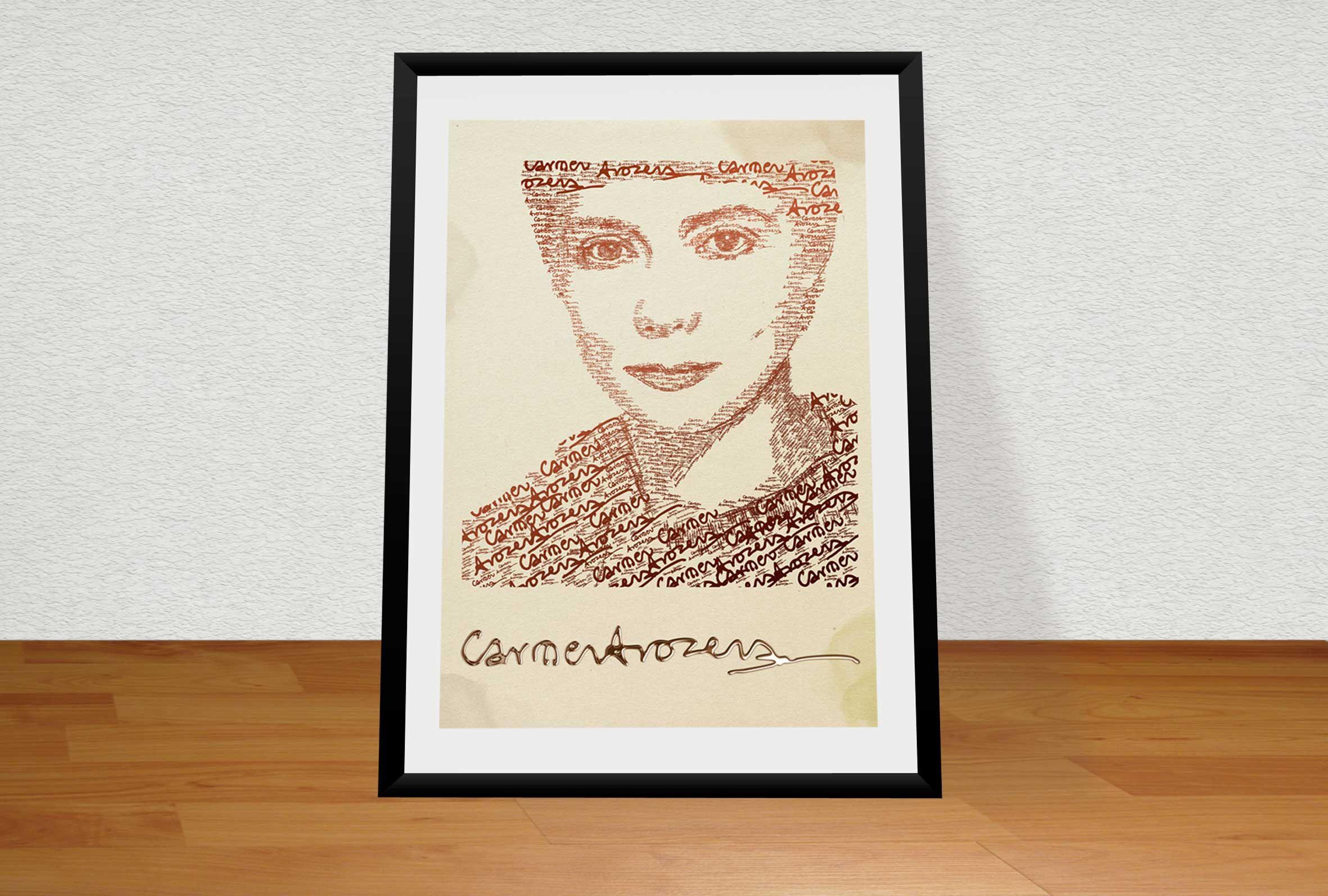 Homenaje a la pintora y grabadora Carmen Arozena