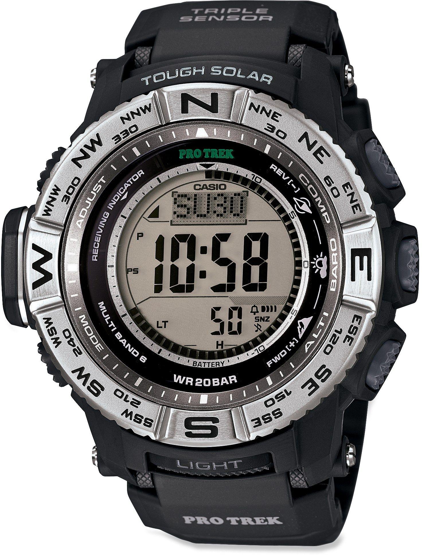 a3db341bf66c Casio Protrek Prw3500-1 Multifunction Watch Reloj Watch