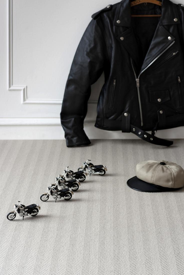 Wool Iconic Herringbone Brando (1521) Wool Carpet