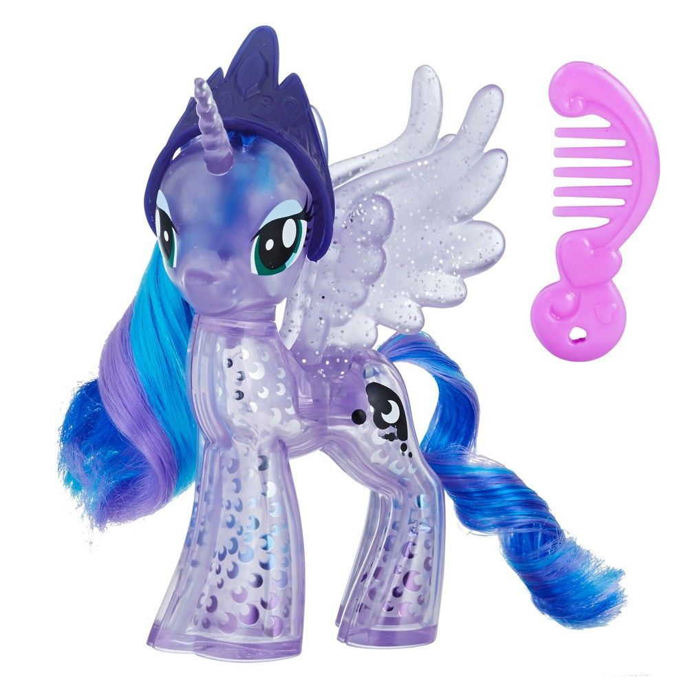 "My Little Pony /""PRINCESS TWILIGHT SPARKLE/"" G4 Tinsel Hair Brushable 4"" 2013"