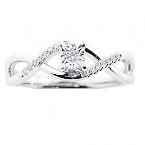 Rings Midwestjewellery Com 10k White Gold Diamond Promise Ring Engagem White Gold Promise Ring Heart Shaped Engagement Rings White Gold Diamond Engagement Ring