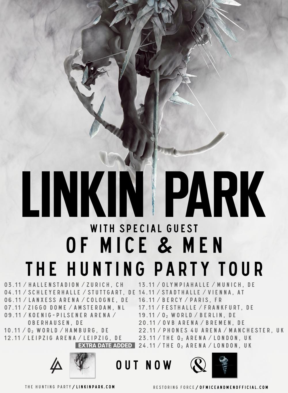 Linkin Park Tour  Europe