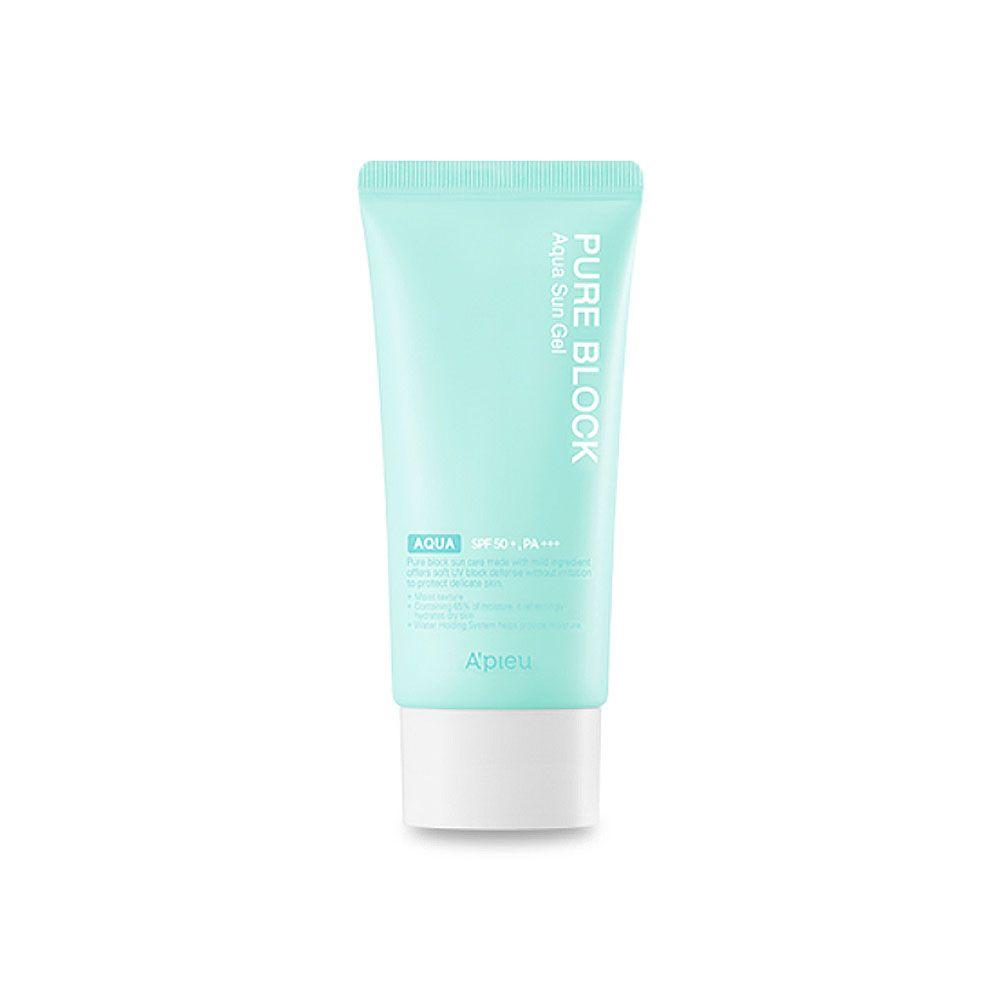 A Pieu Pure Block Aqua Sun Gel Spf50 Pa 50ml Pure Products