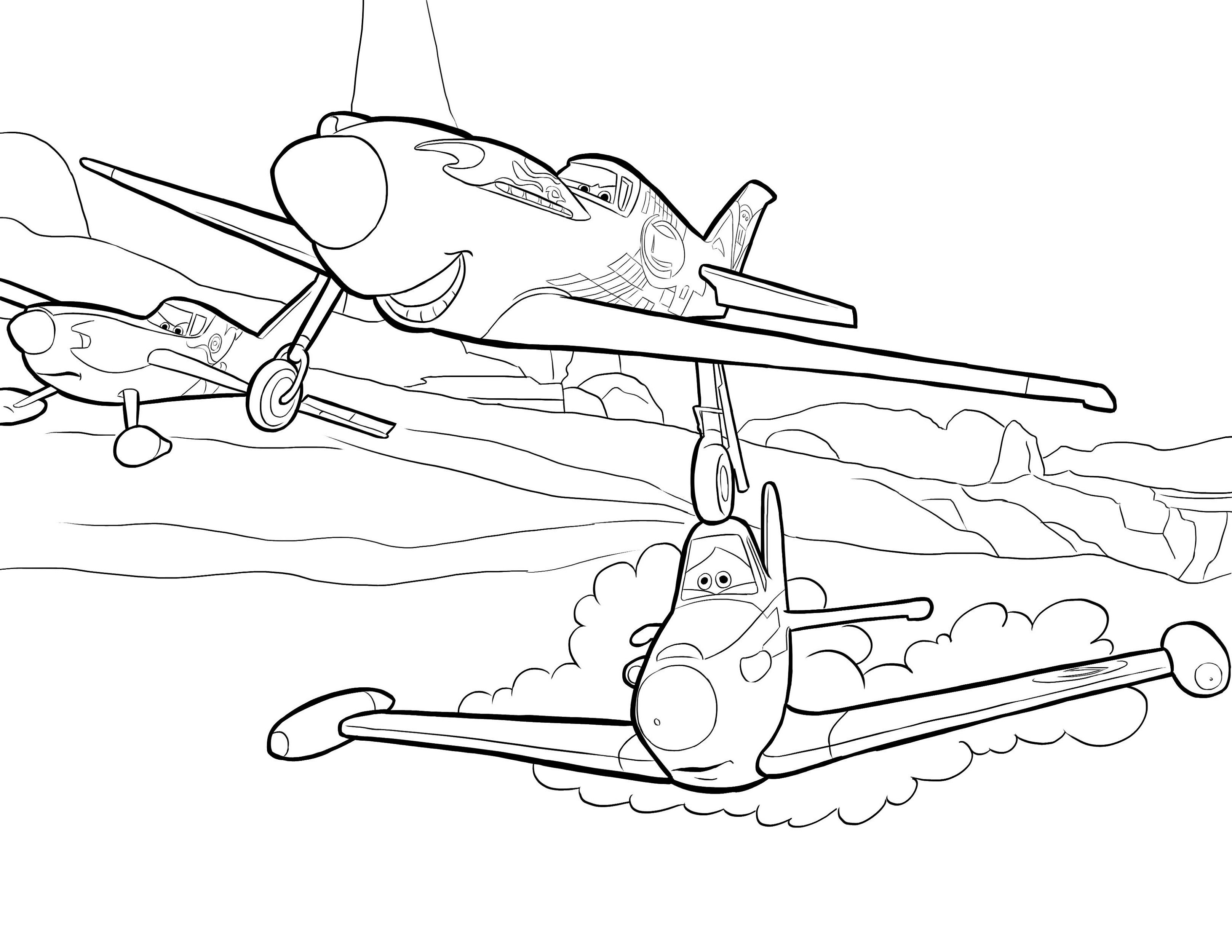 Airplane Coloring Pages Bear Coloring Pages Kids Printable