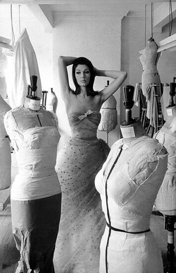 For British Vogue 1959-62,Frank Horvat