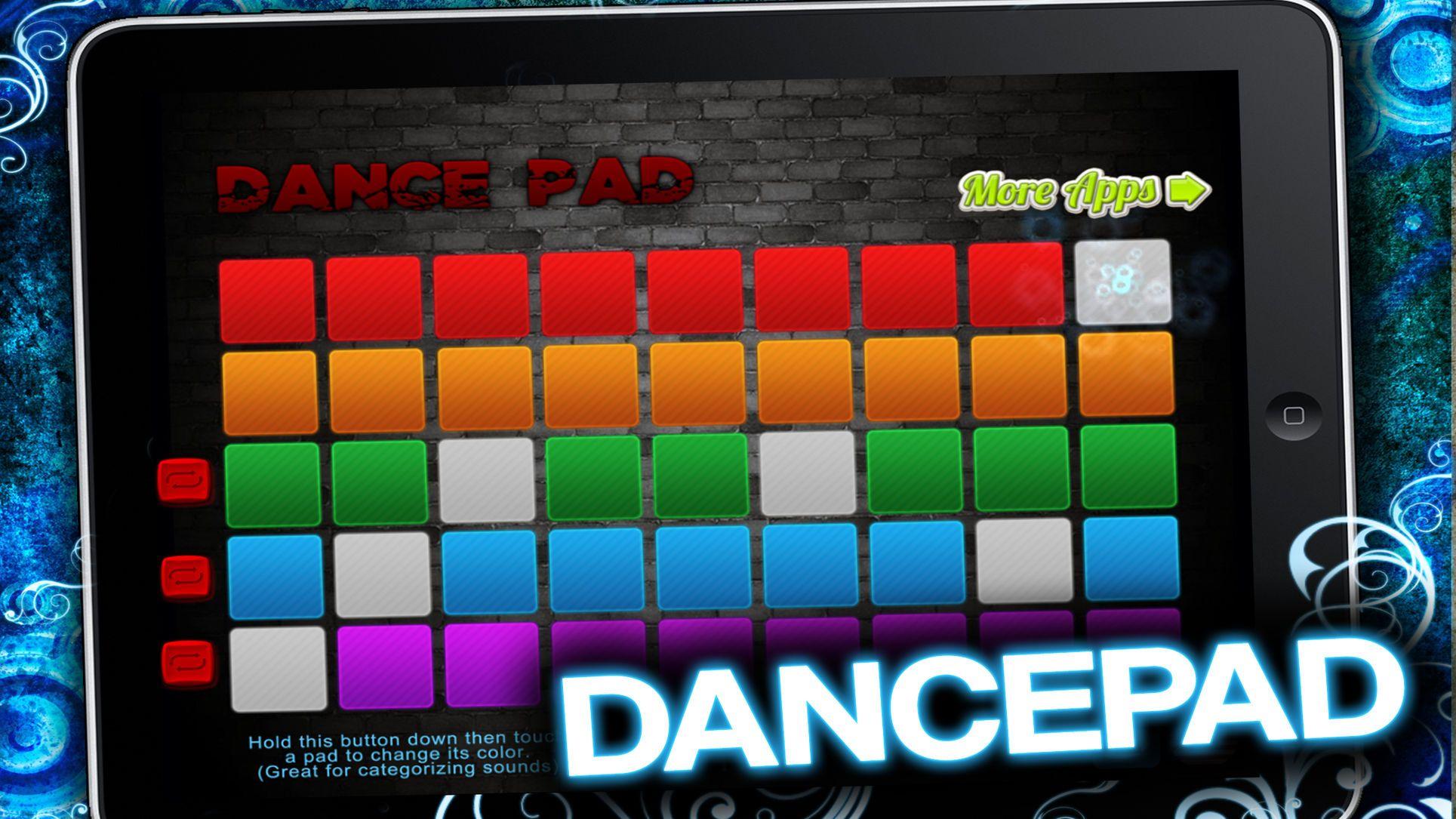 DancePad Hottest Music Maker for Hip Hop and EDM FAD