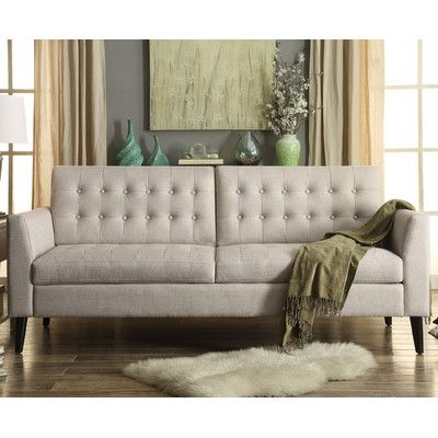 Wall Color With Couch Tufted Sofa Sofa Furniture