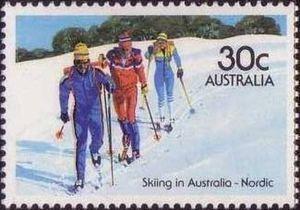 Stamp: Nordic (Australia) (Skiing) Mi:AU 877,Sn:AU 900,Yt:AU 863,Sg:AU 918