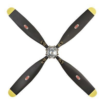 Replica 4 Blade Wwii Propeller Sporty S Wright Bros Airplane Decor Propeller Decor Aviation Decor