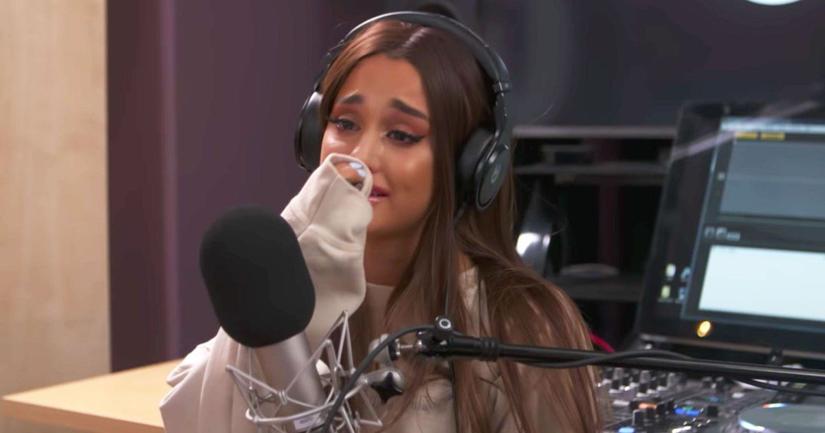 Ariana Grande Breaks Down in Tears Over 'Scary' Ma