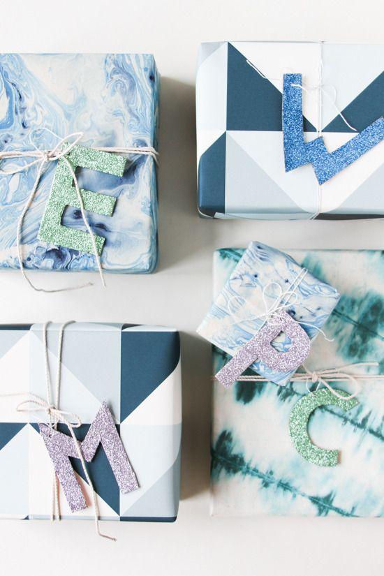 Handmade christmas gift box toppers pinterest