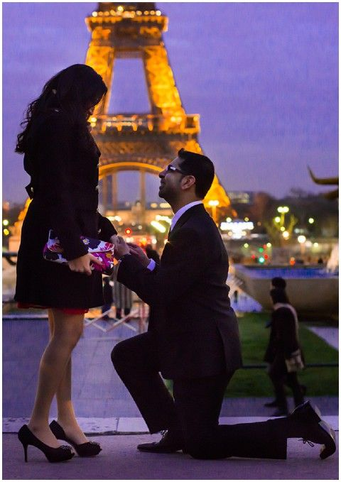 Surprise Trip To Paris With An Eiffel Tower Proposal Tower