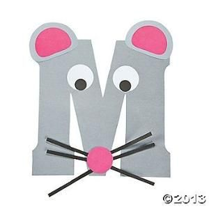 M Is For Mice Letter M Craft KitThis Is So Cute To Do With Every