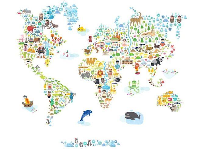 mapa do mundo infantil - Pesquisa Google