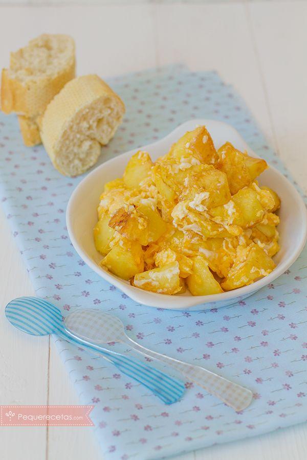 Huevos rotos una receta f cil y econ mica recetas for Cenas faciles y economicas