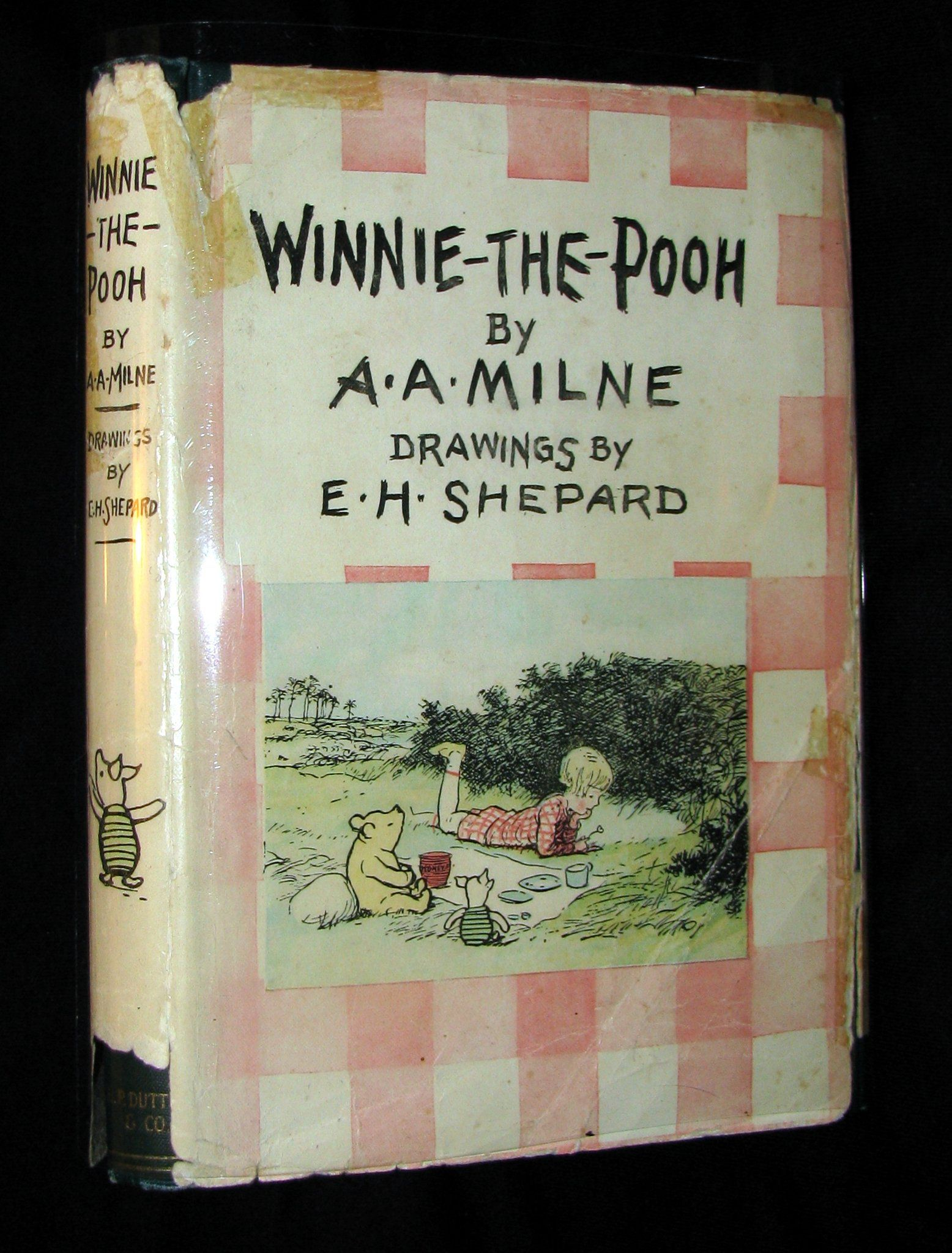 1926 First Us Edition A A Milne Ernest H Shepard Winnie