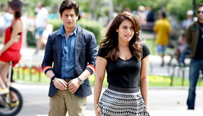 Shahrukh Khan and Kajol in Dilwale