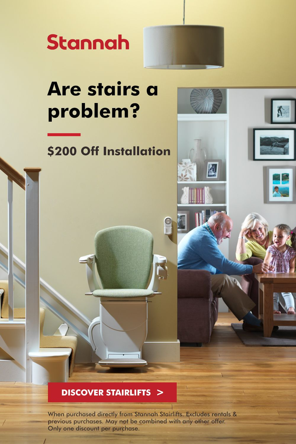 A Stannah Stairlift Is The Answer Mention Pinterest For 200 Off Installation Home Home Decor Styles Grandma Crafts