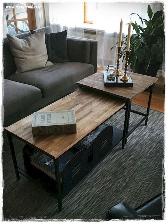 59 Ikea Hack Planked Coffee Table Ikea Hack Living Room Ikea Coffee Table Ikea Living Room