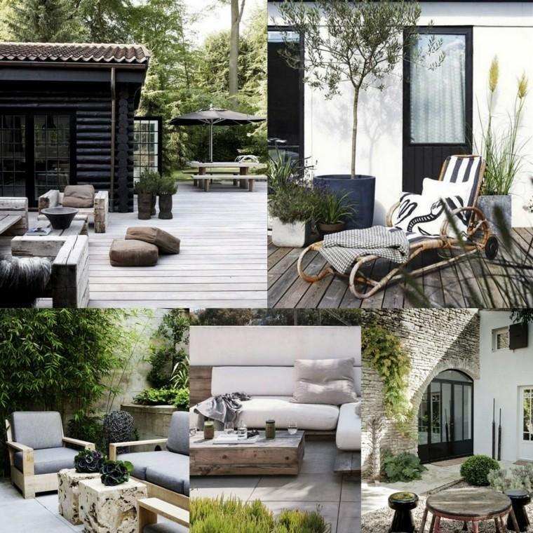 Ideen für gemütliche Terrassen, Terrassen oder Balkone