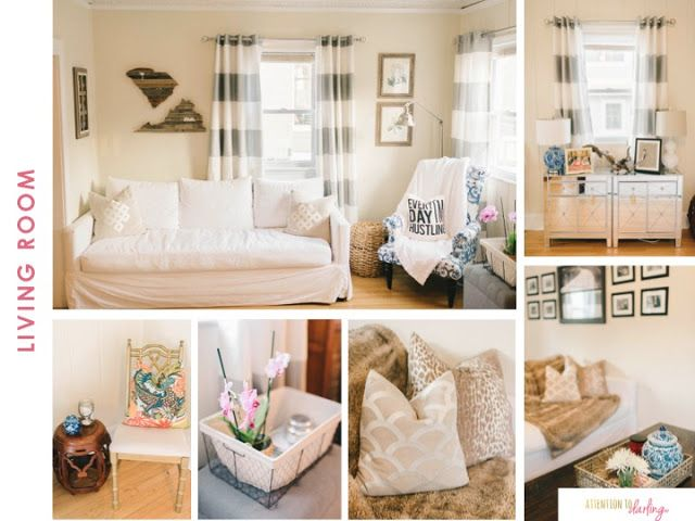 Home Tour | Slip covers couch, House tours, Family living ...