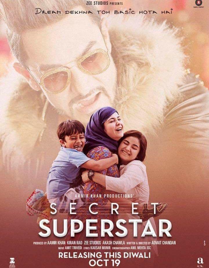 SECRET SUPERSTAR (2017) con AAMIR KHAN + Jukebox + Online Español 46469e33b470014c47b62a0a73a7b6e6