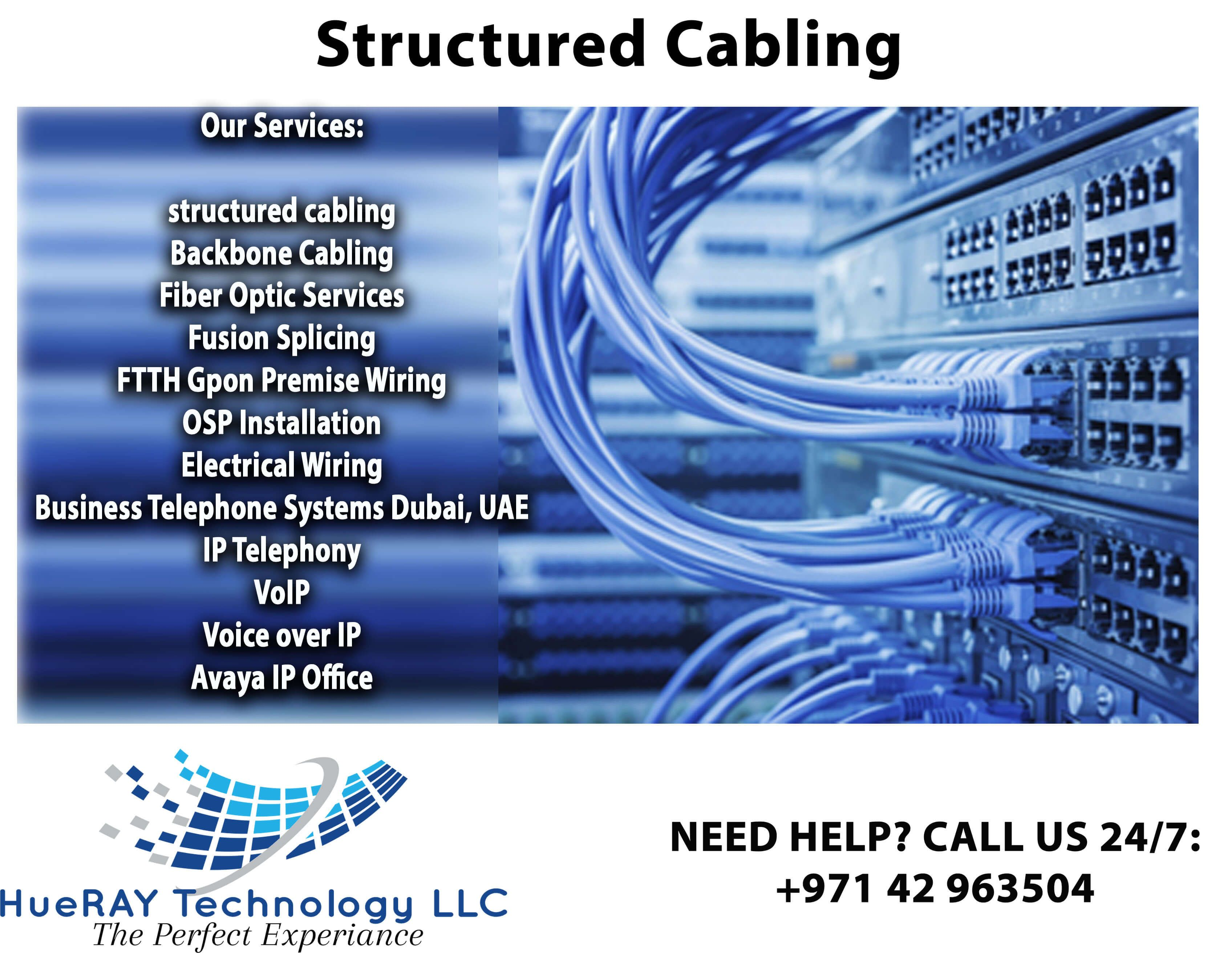 network cabling company dubaiHUERAY TECHNOLOGY LLC Cable