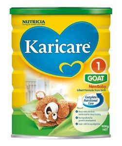 Karicare Goat Milk Powder Infant New Born 900g Eczema