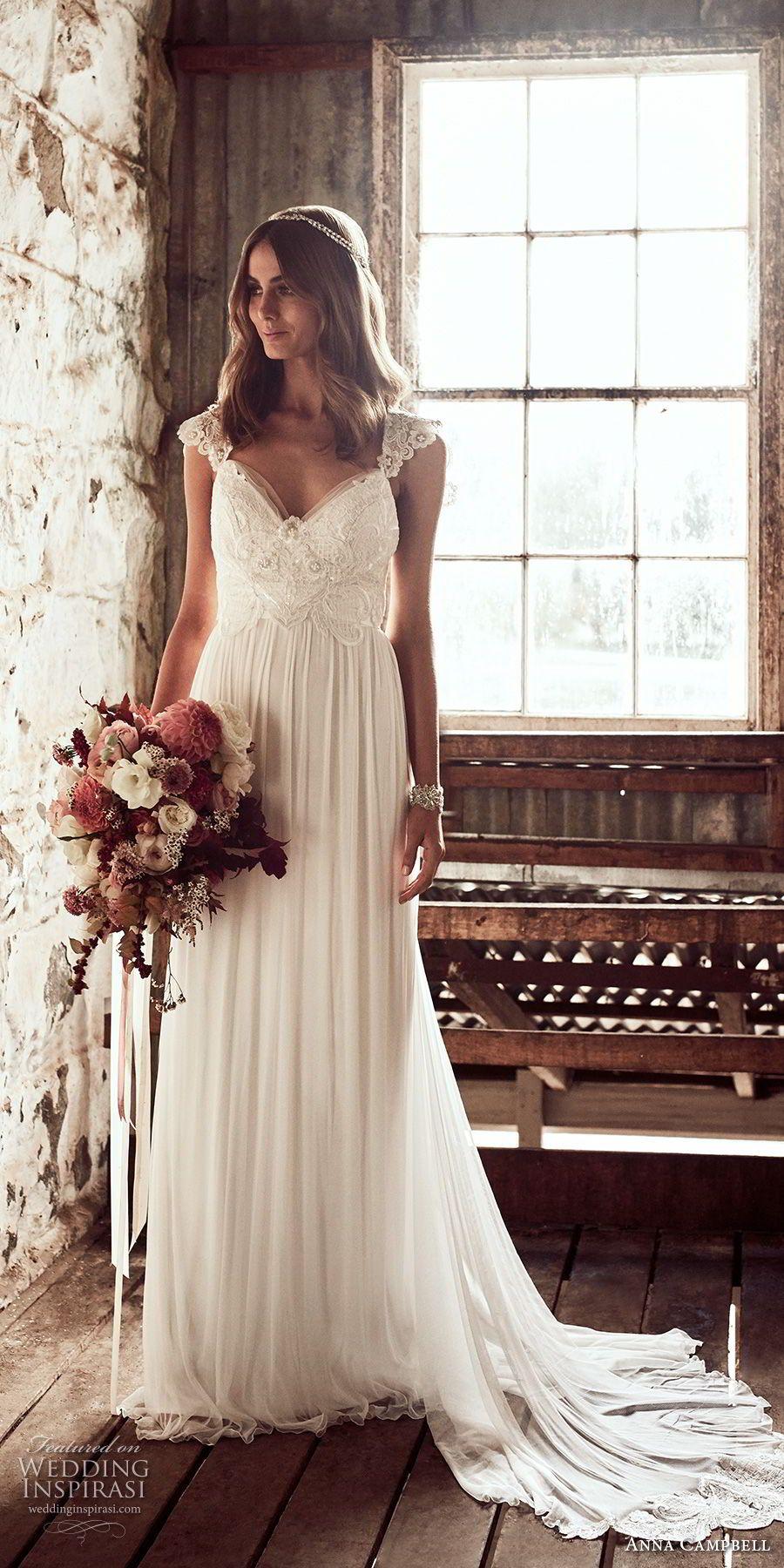 Anna campbell wedding dresses u uceternal heartud bridal
