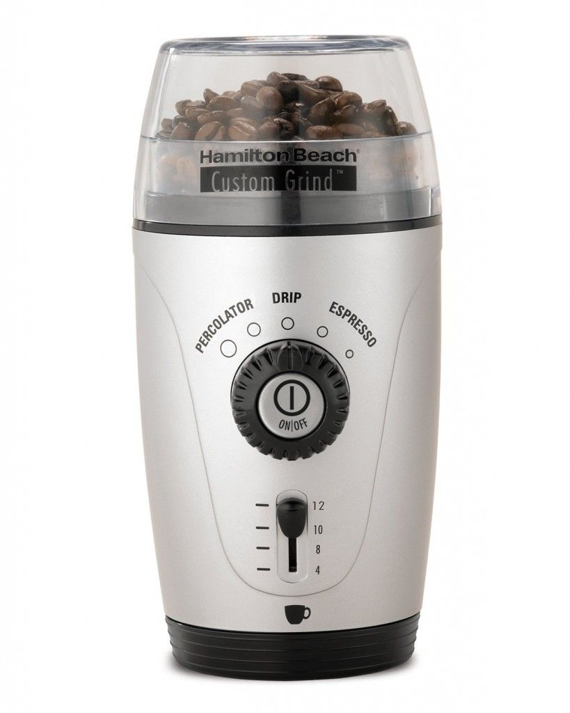 Hamilton Beach Custom Coffee Grinder only $18 12 Reg $32 99
