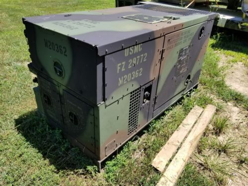 Mep 803a 10kw Generator Military Diesel 120 240 60hz 1 3 Phase Buy It Now Obo Outdoor Decor Outdoor Decor