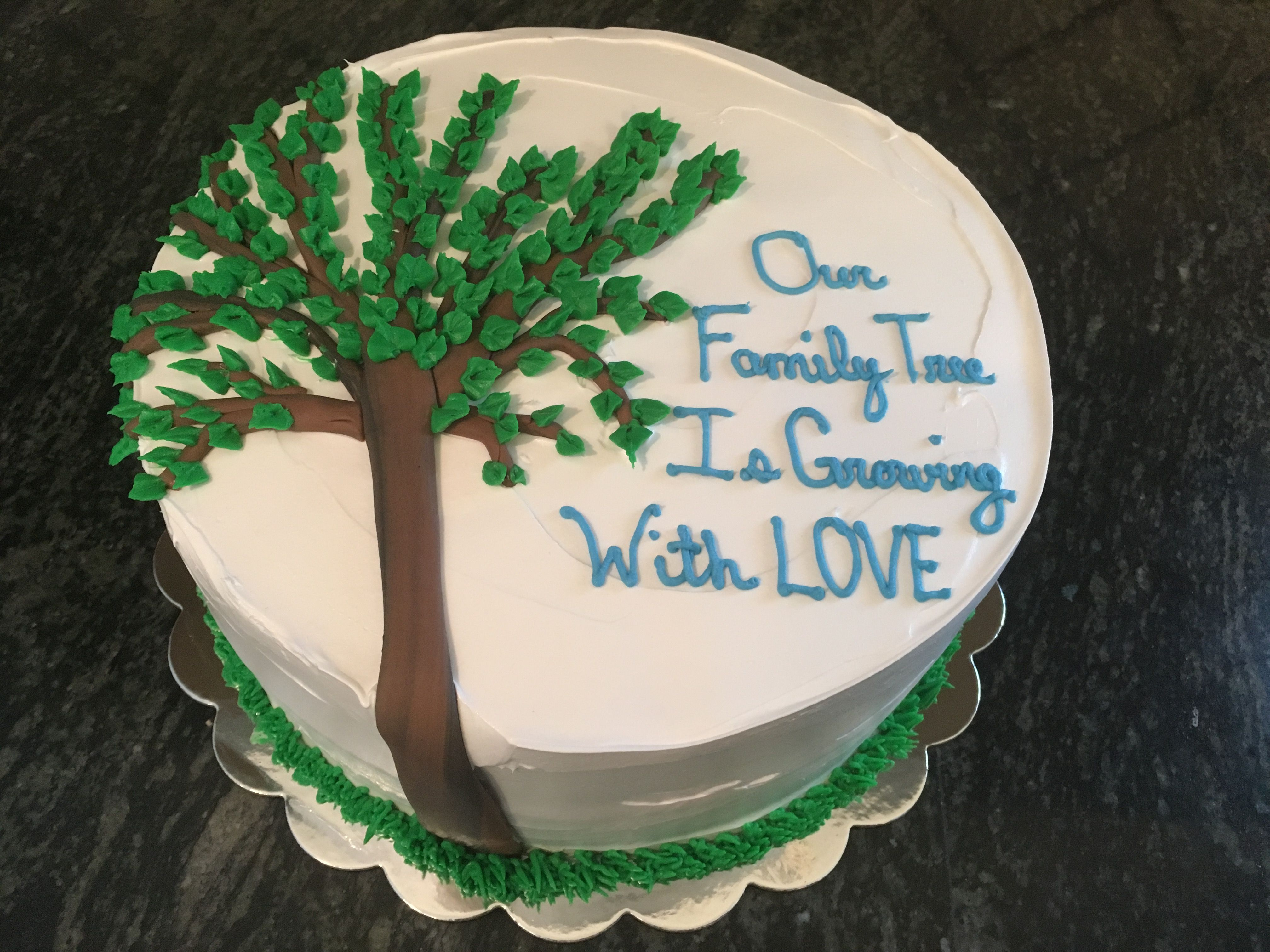Family Tree Adoption Cake Adoption Cake Adoption Party