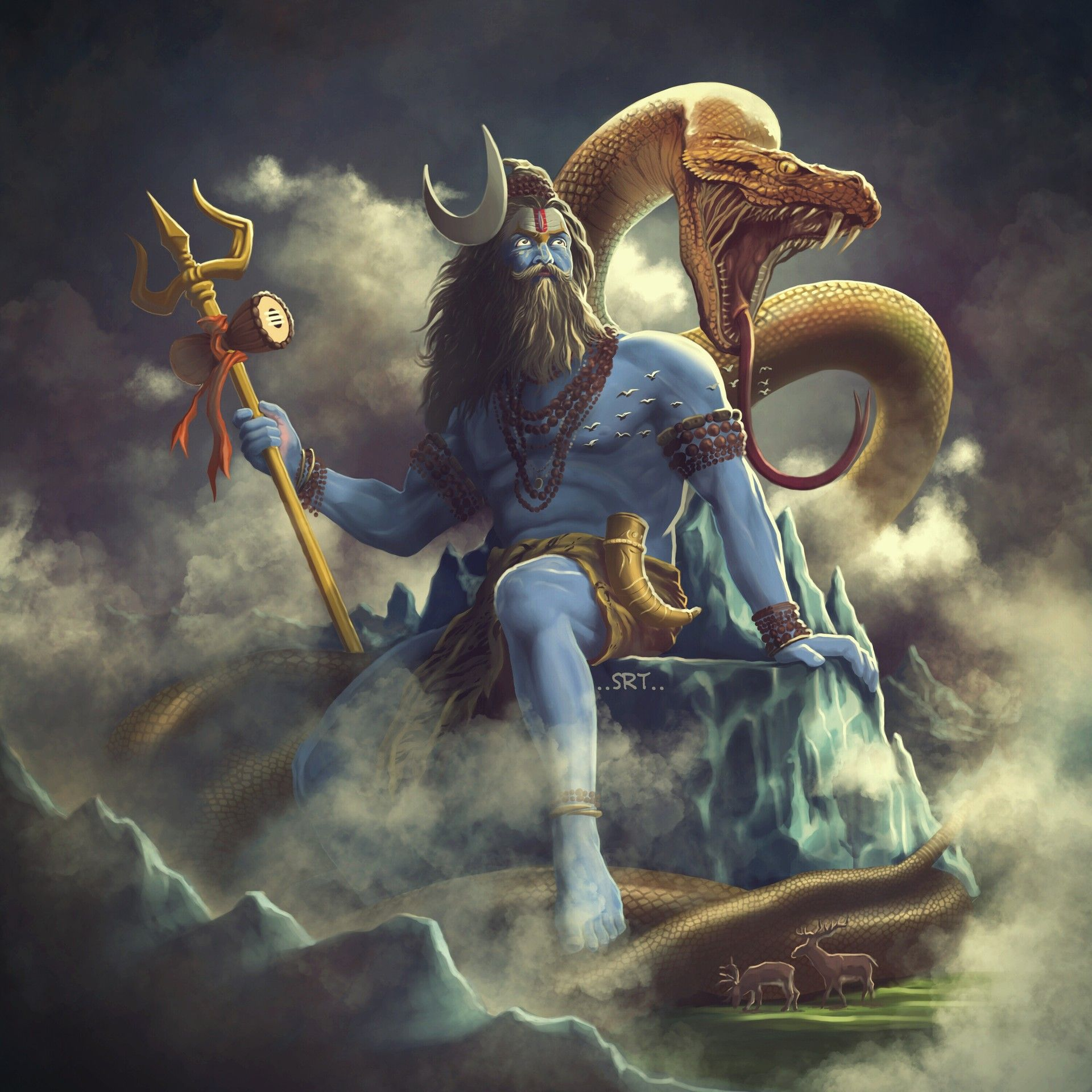 Artstation Aghori Shiva Sarath Babu Lord Shiva Shiva Lord