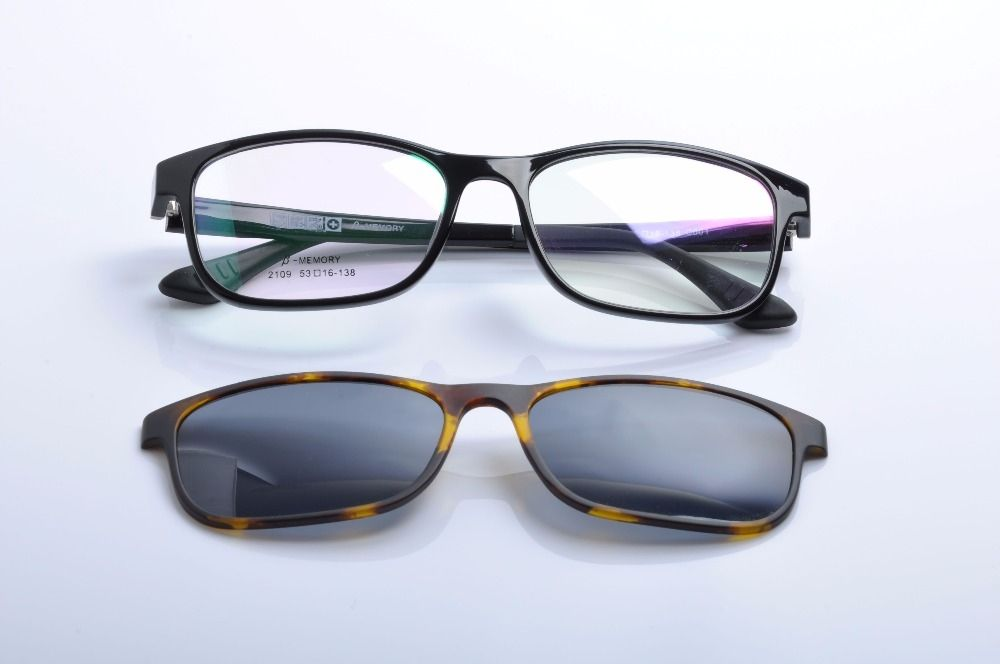 Men's Glasses Original Quality Ultra Light Ultem Carbon Fiber Tungsten Optical Myopia Glasses Frame Men Women Unisex Square Eyewear Blue Green Leg