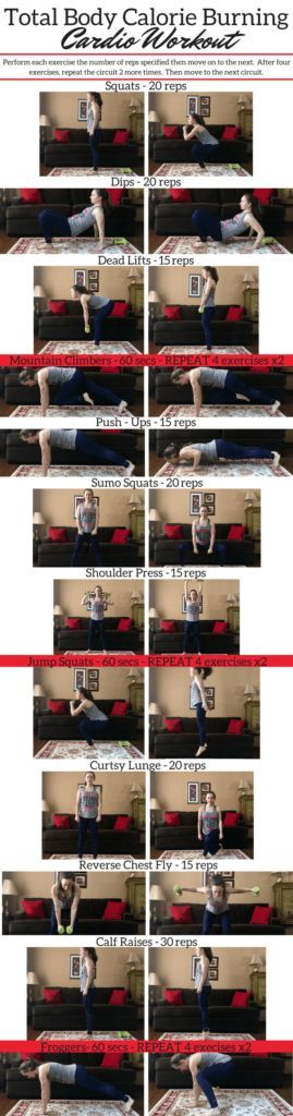This total body calorie burning cardio workout incorporates upper body exercises, lower body exercises, and cardio exercises all together in 3 mini circuits! It's an at home workout and also a 30 minute workout! #upperbodyworkout #lowerbodyworkout #totalbodyworkout #cardioworkout