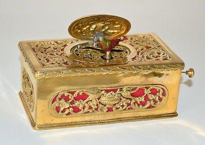 RARE C 1890 Swiss Musical Singing Bird Music Box Automaton eBay