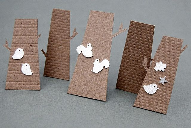 like this idea for earring cards that stand - makes it easy for craft fair…