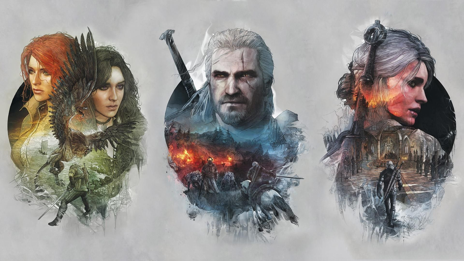 the witcher 3 Steel book Cover Дикие, Разное