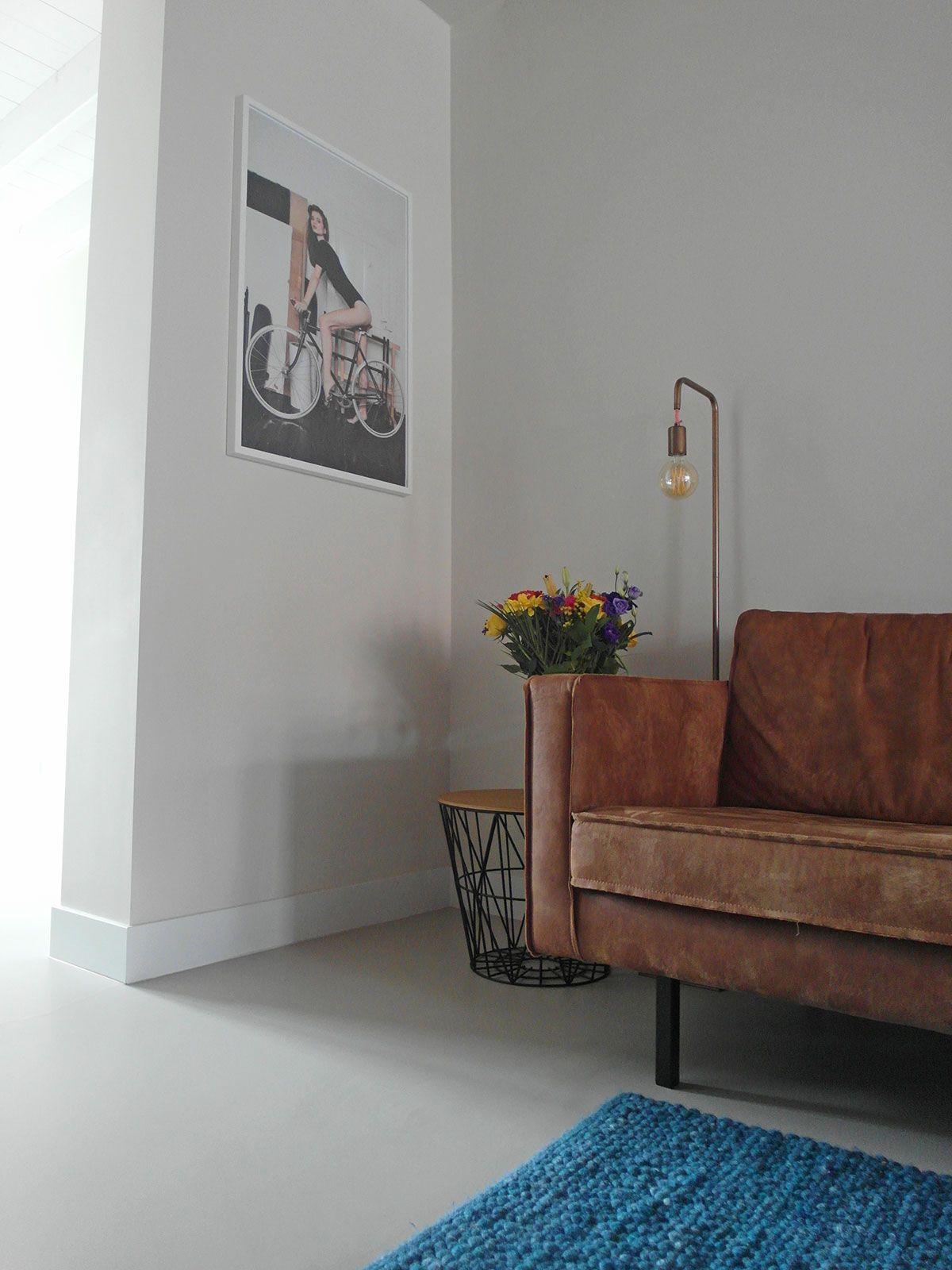 Gietvloer woonkamer Wijk bij Duurstede | gietvloer | Pinterest ...