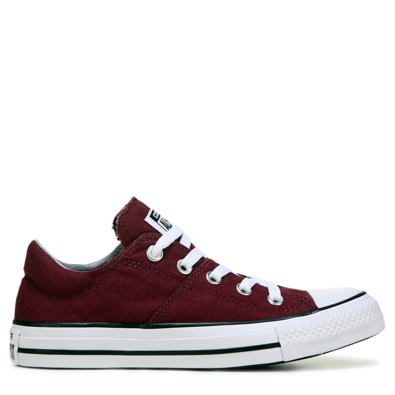 66f7e4657c6a Converse Women s Chuck Taylor All Star Madison Low Top Sneakers (Burgundy)