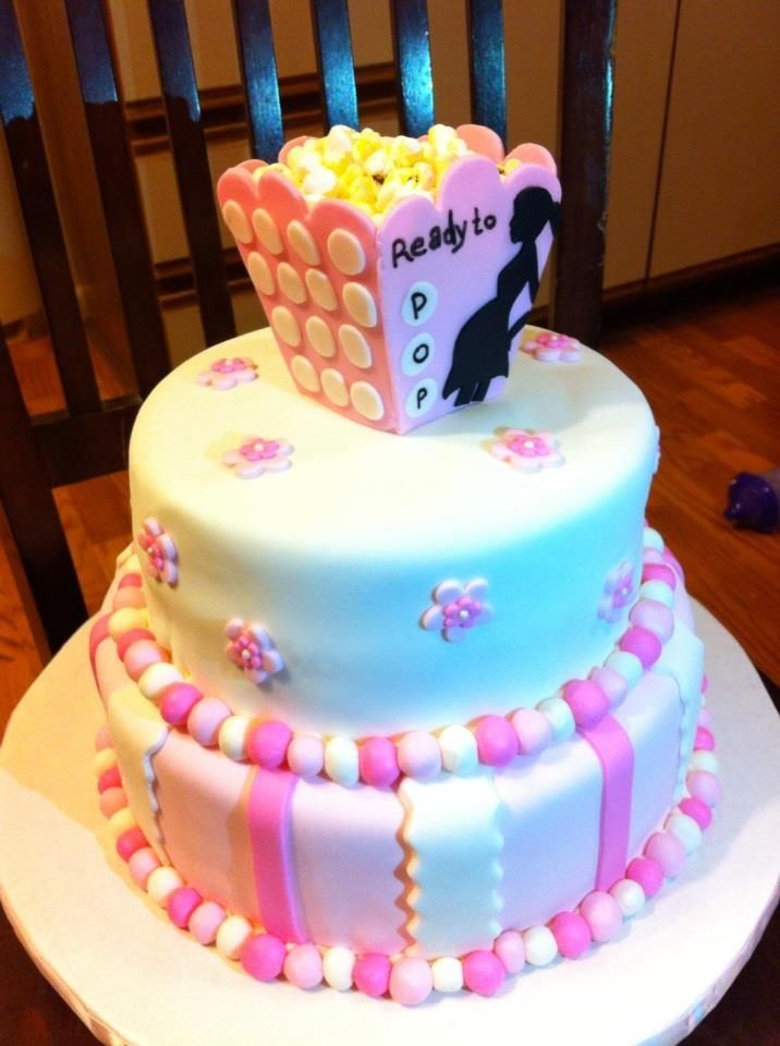 ready to pop baby shower cake cakes pinterest pop baby showers